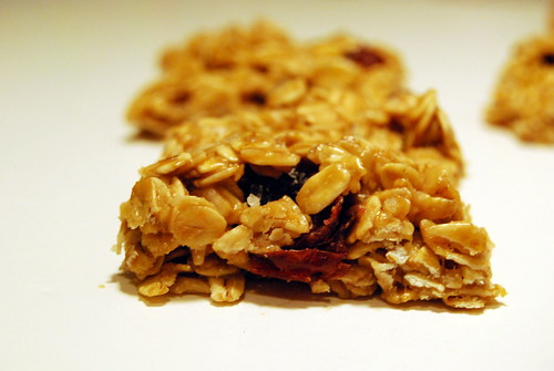 Oat & Honey Bar with Cranberries-001