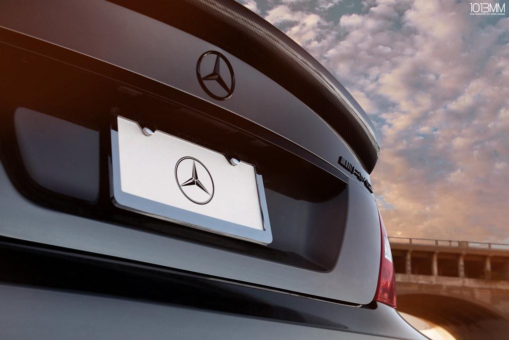 Impressive Wrap Mercedes Benz C63 AMG