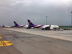 THAI's fleets