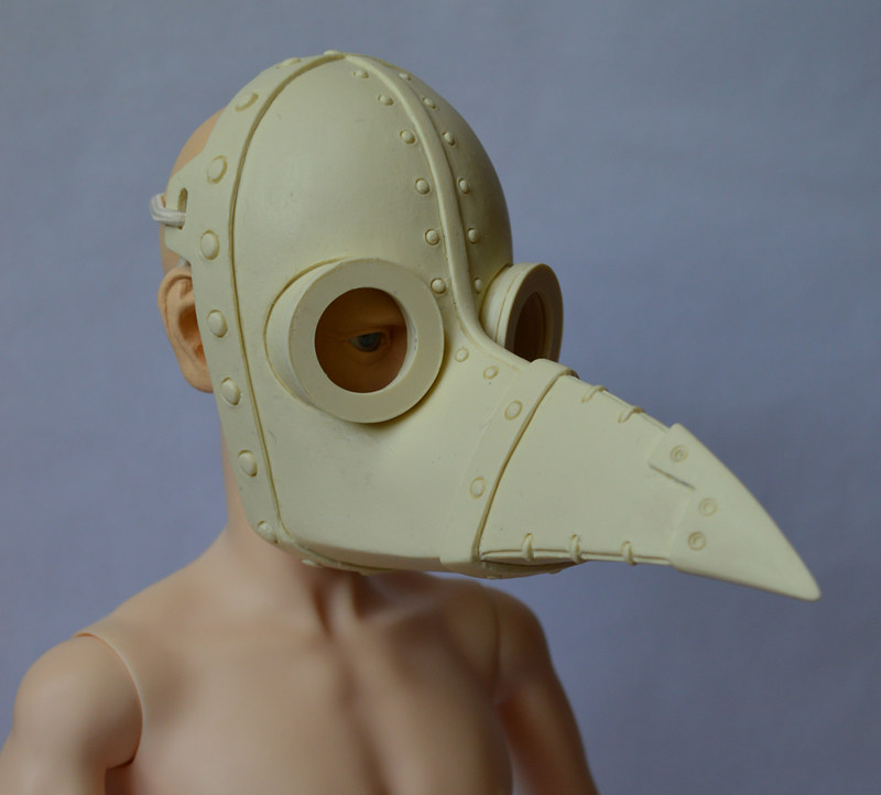 Plague Doctor Venetian Mask