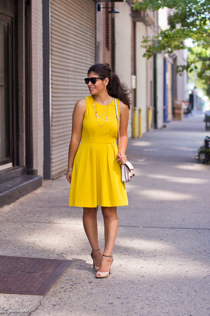 Little Yellow Dress, Nude Pumps-1.jpg