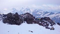 Domki służby ratowniczej M Cz S (4100m), Elbrus