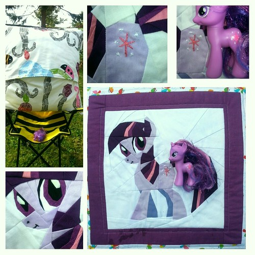 Twilight sparkle pillow