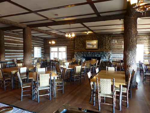 Roosevelt Lodge dining room