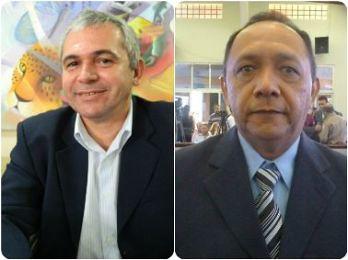 Nélio Aguiar e Luiz Alberto