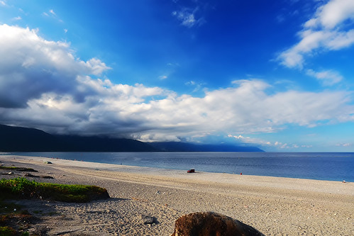 travel sea sky beach clouds landscape taiwan olympus hualien 七星潭 花蓮 em1 chihsingtan 1240mmf28