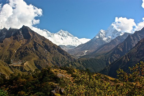 Everest, Lhotse, Amadablam