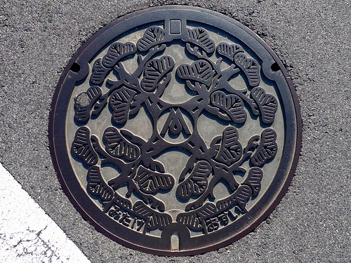Mitake Gifu, manhole cover (岐阜県御嵩町のマンホール)