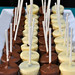 Cheesecake pops are part of the food frolic at the NextNOW Fest. Photo by Dylan Singleton.