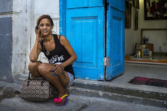 Cuban teen girls, sex in plain