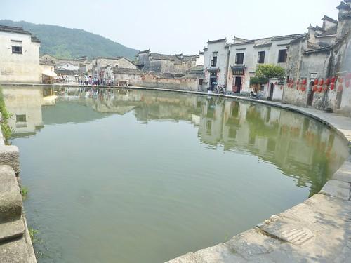 Anhui-Hongcun-Village-Étang-Lune (12)