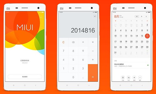 MIUI 6 для Xiaomi Mi 4