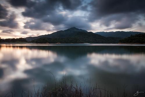 reflection water canon landscape hongkong taimoshan 5dmarkii