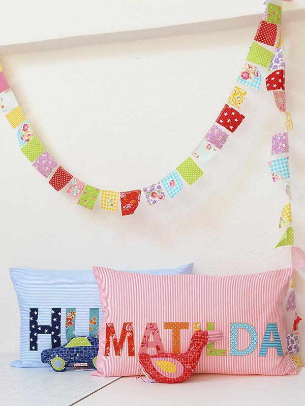 Namenskissen / Name Pillow
