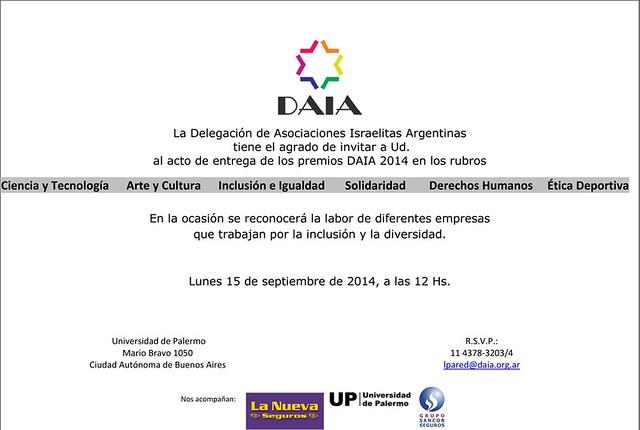 premios daia
