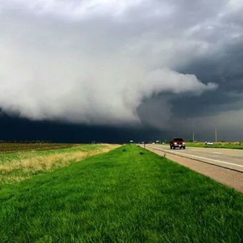 sky storm nature weather clouds nebraska skies ominous tornado therebeastormabrewin