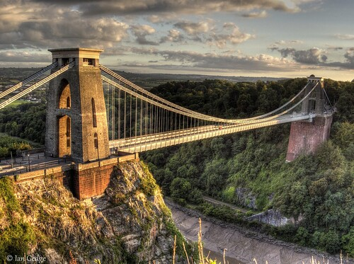 uk bridge england river bristol britain gorge suspensionbridge avon clifton isambardkingdombrunel