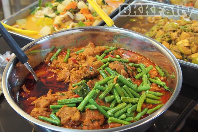 vegetarian thai kow gaeng