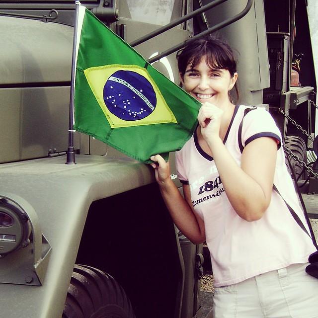 #desafioprimeira 7-Independência. Foto antiguinha mas acho que tá valendo.