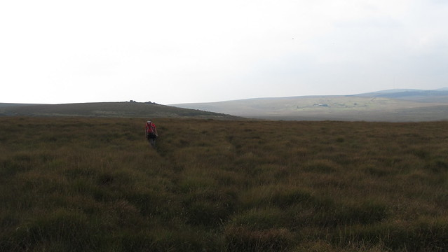 Typical terrain for the day on our way to Fox Tor