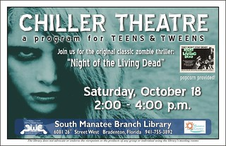 SOM Teen Chiller Theatre poster