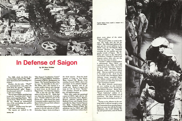 Uptight Magazine, Vietnam, Winter of 1969 (2) - In Defense of Saigon