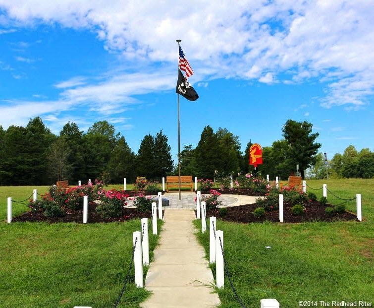 38th Parallel Memorial Garden in Milford Virginia 2014-08