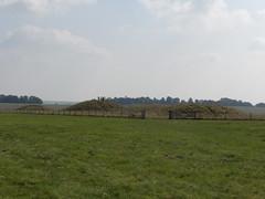 Burial mounds near Stonehenge