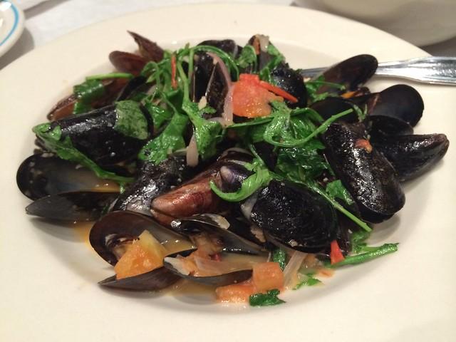 PEI mussels - Logan Tavern
