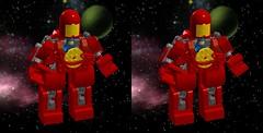 Classic Space Exo-suit 3D front