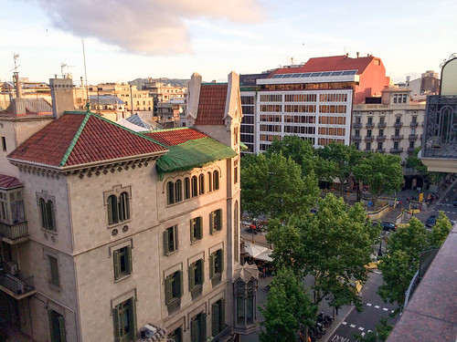 Vista desde la terraza de la séptima planta