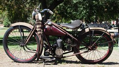 1956 Simplex 2½ hp Automatic Motorcycle '166277' 1 `