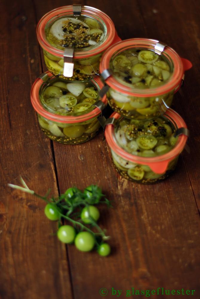 grüne Tomaten by Glasgeflüster 5 klein