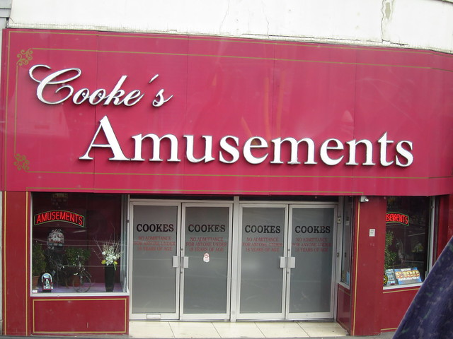 Header of Amusements