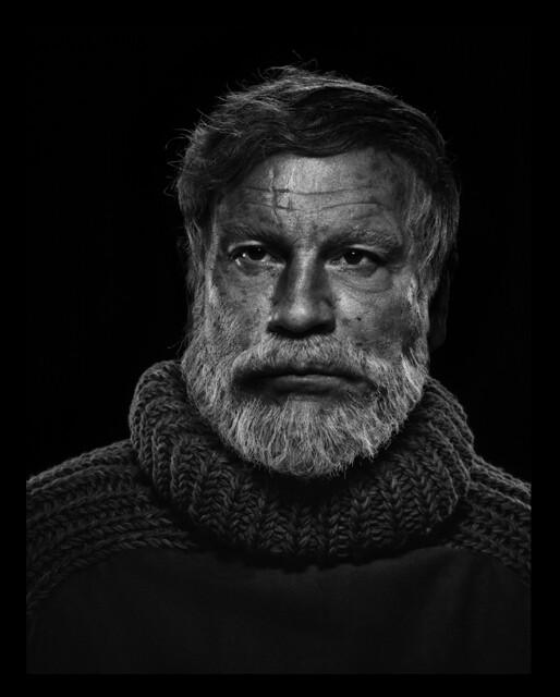 Sandro Miller, Yousuf Karsh : Ernest Hemingway (1957), 2014