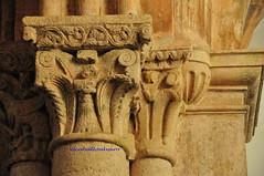 336 - Capitel Interior - Iglesia Santa María de Lugás - Villaviciosa (Asturias) - Spain.