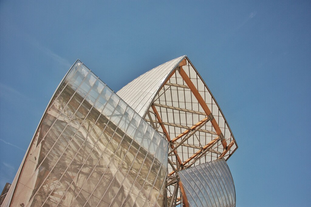 Foundation Louis Vuitton, Bois de Boulogne, Paris, Frank Gehry Architecture