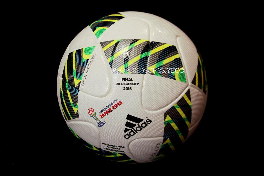 ERREJOTA FIFA CLUB WORLD CUP JAPAN 2015 FINAL ADIDAS OFFICIAL MATCH BALL 2002b00a8a7fb