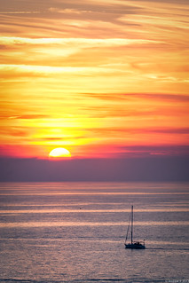 Sunset over the Adriatic Sea - 2