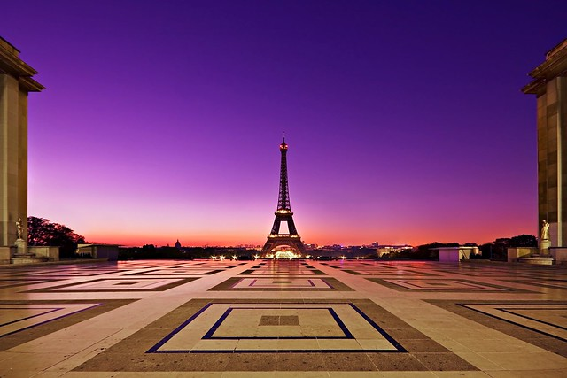 Eiffel Tower from Palais Chaillot
