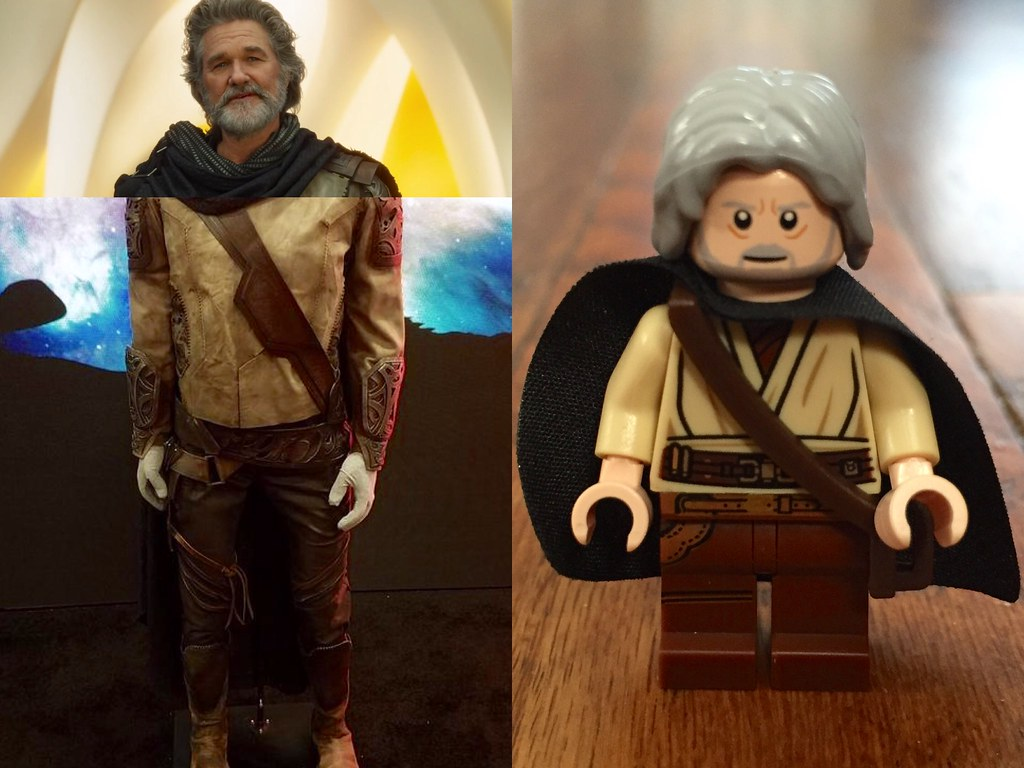 Guardians Of The Galaxy Vol. 2 custom Star Lord ⭐️ & Ego The Living Planet ? LEGO minifigures.