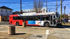 WMATA Metrobus 2006 New Flyer D40LFR #6156
