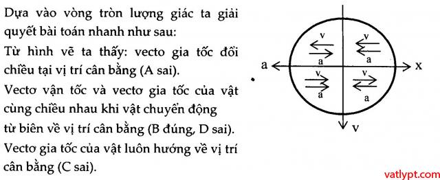 Bài tập dao động điều hòa cơ bản, vật lý lớp 12