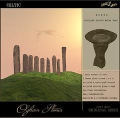 Lilith's Den - Ogham Stones