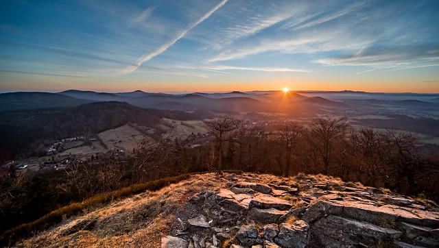 Sonnenaufgang auf dem Kleis, Nikon D750, Sigma 12-24mm F4.5-5.6 EX DG Aspherical HSM