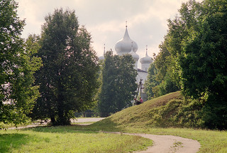 Monastery near Novgorod, Russia