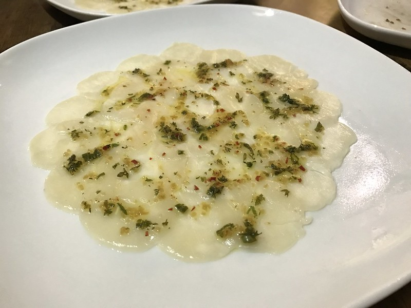 Naked Finn - Farmed Yesso Scallop (Mizuhopecten Yessoensis) Carpaccio