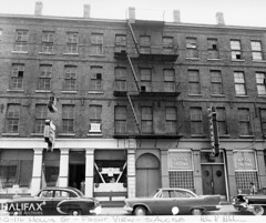 Hollis Tavern and Reliable Dry Cleaners, 110-116 Hollis St.