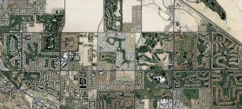 Palm Springs, plan view, map data (c) 2017 Google