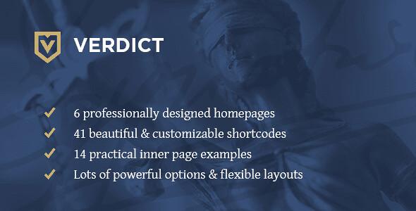 Verdict WordPress Theme free download